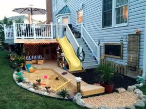 обустройство детской комнатки